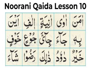 How Many Pages Are In Noorani Qaida?